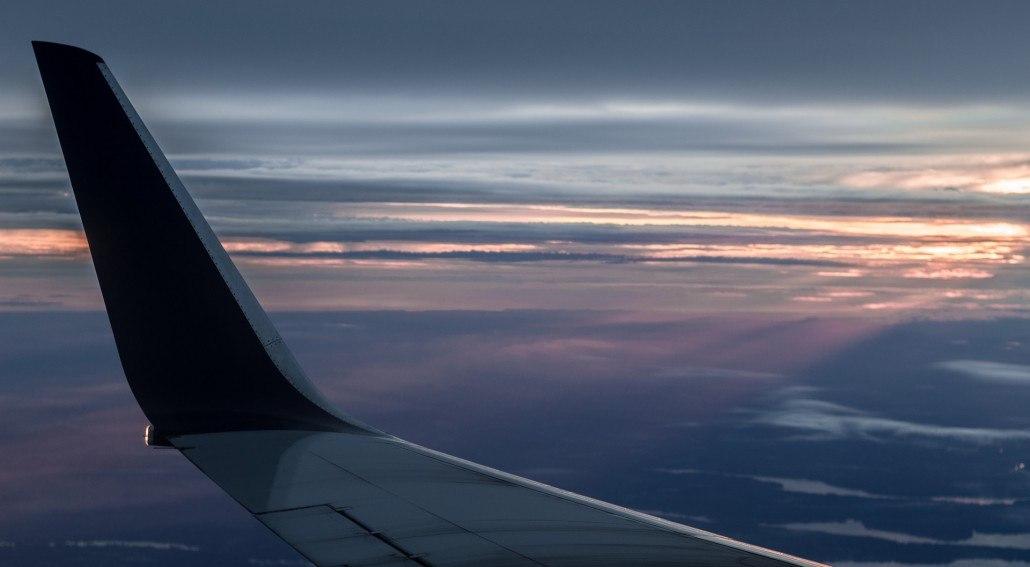 Nacht Flugverfolgung