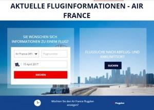 Air France Flugstatus | Abflug und Ankunft prüfen