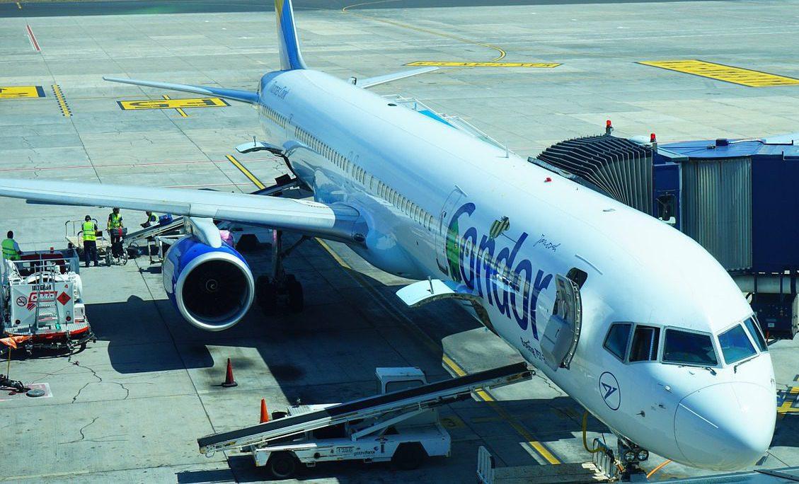 Frankfurt Flughafen Condor Abflug