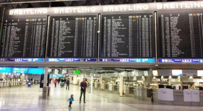 Flughafen Frankfurt Terminal Flugplan