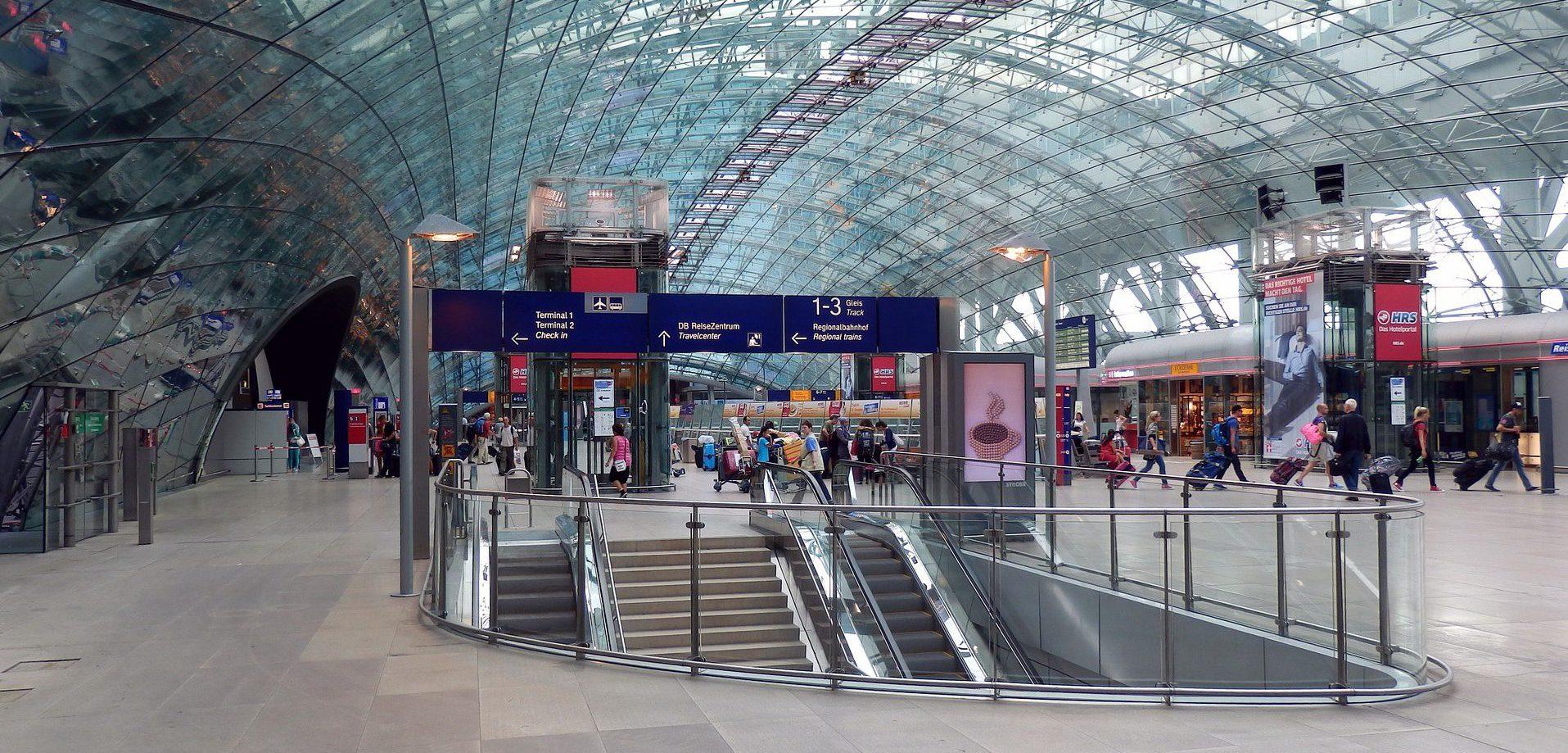 Ankunft Frankfurt Main