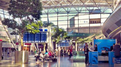 Flughafen Düsseldorf Abflughalle