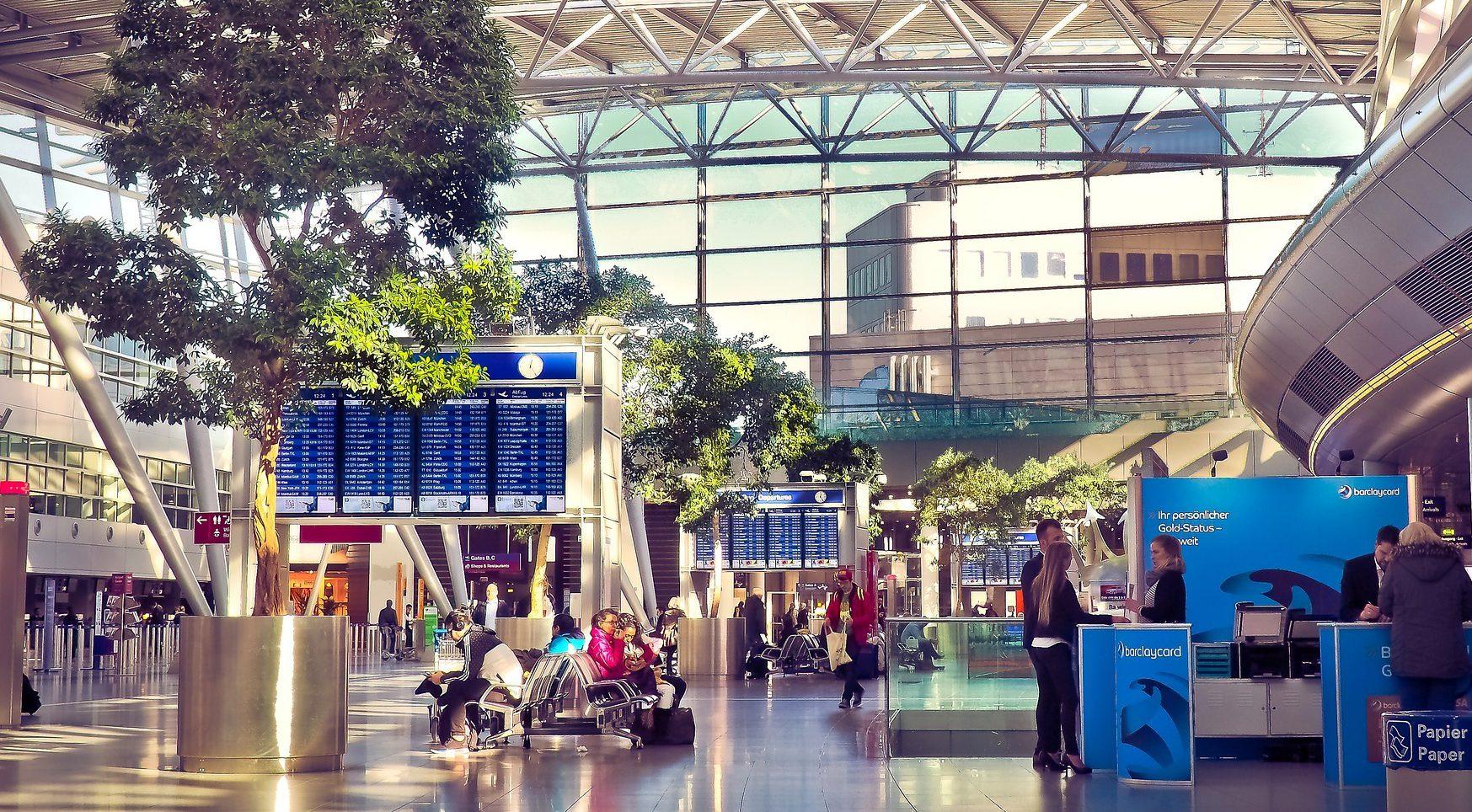 Flughafen Dusseldorf Ankunft Abflug Dus Flugplan Flugstatus
