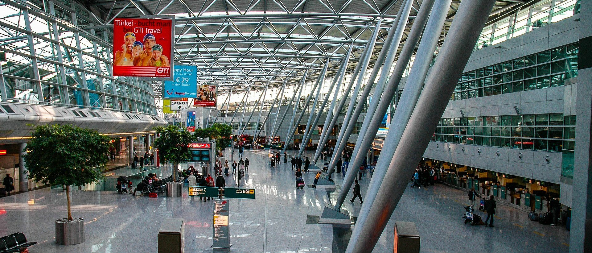 Ryanair Frankfurt Terminal Ankunft