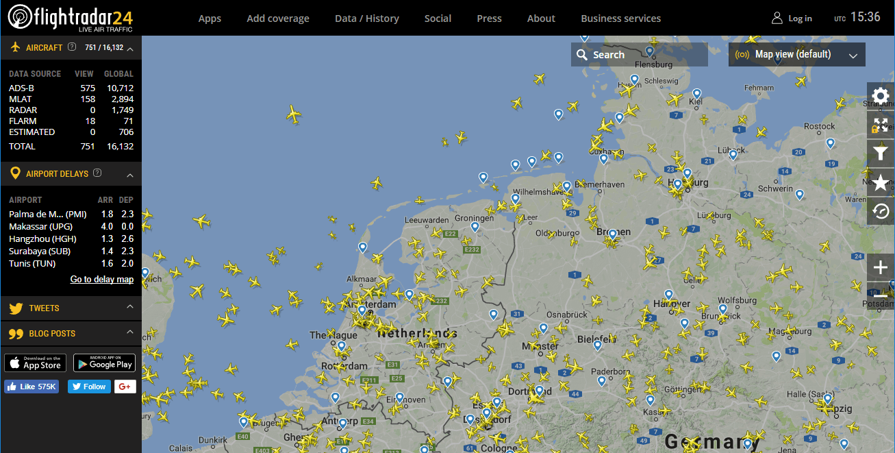flightradar24 live flugzeug radar deutsch anleitung. Black Bedroom Furniture Sets. Home Design Ideas