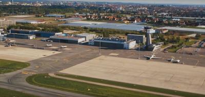 Flughafen Nürnberg von oben