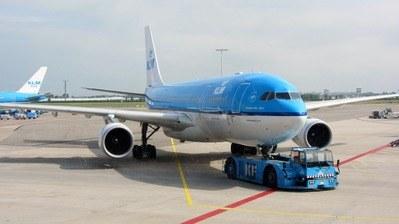 KLM Airtline Ankunft